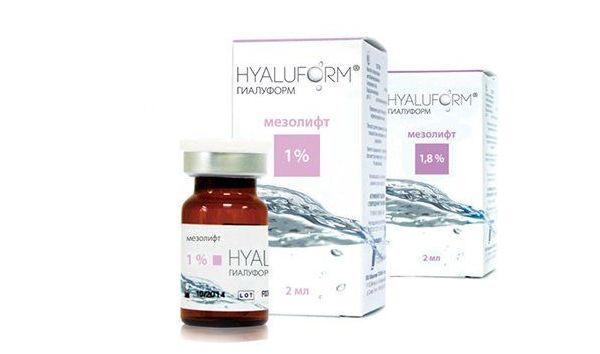 hyaluform mezolift