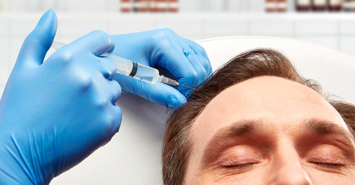 современная процедура улучшить кровоснабжение кожи головы