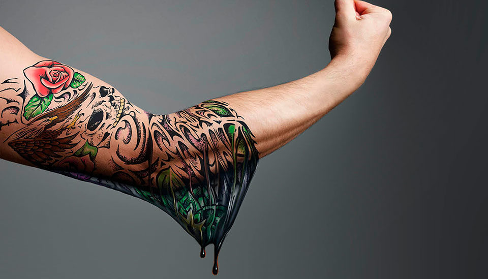 Удалить татуировку